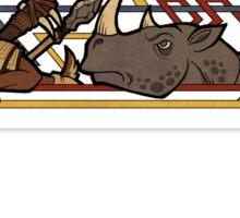 Goatkin scroll Sticker