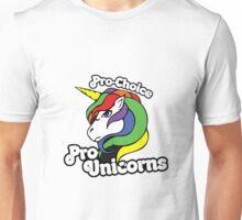 PRO CHOICE PRO UNICORNS  Unisex T-Shirt