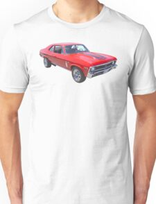 1969 Chevrolet Nova Yenko 427 Muscle Car Unisex T-Shirt
