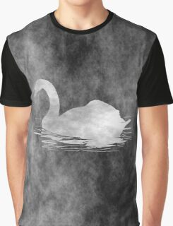 Melancholic Black Swan Graphic T-Shirt