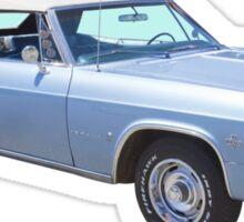 1965 Chevy Impala 327 Convertible Classic Car Sticker