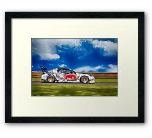 Mazda RX7 Drift Framed Print