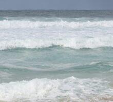 Beautiful Ocean Beach Dress Sticker
