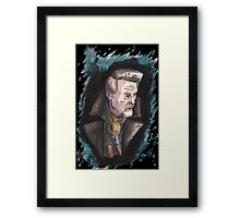 The War Doctor Framed Print
