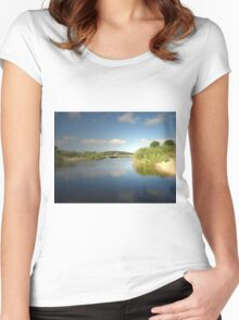 CLOUD REFLECTION Women's Fitted Scoop T-Shirt