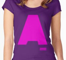Amin Van Buuren logo A Pink - shirt - state of trance Women's Fitted Scoop T-Shirt