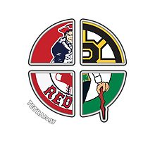 Boston / New England Sports TETRAlogy! Patriots, Celtics, Red Sox and Bruins by Sochi
