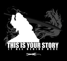 This is your story (poster size) by Daniel Espinola