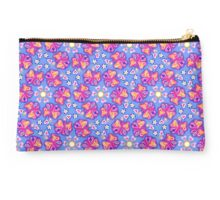 Butterflies, butterfly, heart, flower, mandala, pattern design, sample, ornaments, Studio Pouch