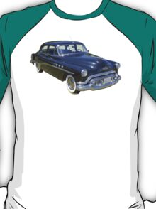 Black 1951 Buick Eight Antique Car T-Shirt