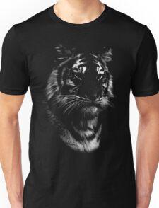 tiger, black shirt Unisex T-Shirt