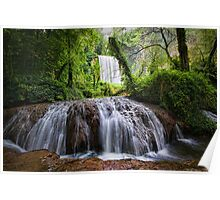 Stone River Waterfall 2 Poster