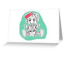 Christmas Cyberman Greeting Card