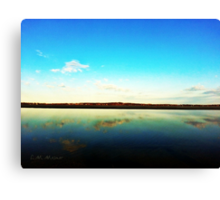 Lake L'Homme Dieu Canvas Print
