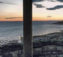 Seafront at Weston-super-Mare Sticker