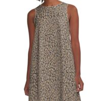 The Wild Mud Cliff A-Line Dress