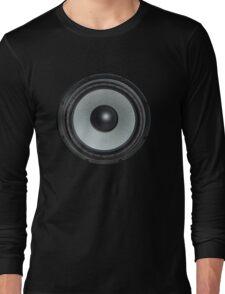 Black Speaker Long Sleeve T-Shirt