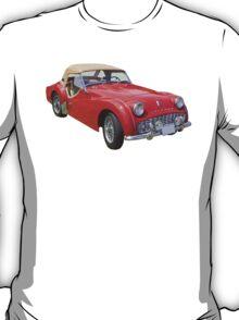 1957 Triumph TR3 Convertible Sports Car T-Shirt