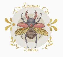 Lucanus cervus Baby Tee