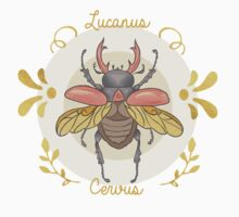 Lucanus cervus One Piece - Short Sleeve