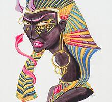 Pharaoh Hatshepsut by sophiazarders