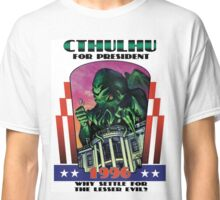 Retro CTHULHU FOR PRESIDENT 1996 T-Shirt Classic T-Shirt