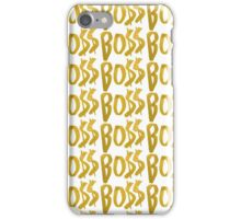BO$$ v3 iPhone Case/Skin