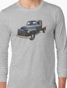 1950 Chevrolet Flat Bed Antique Pickup Truck Long Sleeve T-Shirt