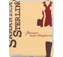 Adventurer Samantha Sterling iPad Case/Skin