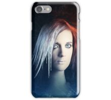 Fire and Ice Portrait iPhone Case/Skin