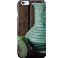 Still life with jug and apples iPhone Case/Skin