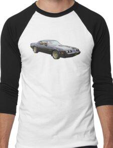 1980 pontiac Trans Am Muscle Car Men's Baseball ¾ T-Shirt