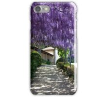 Canopy of Wisteria iPhone Case/Skin