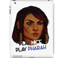 Play nice, play Pharah! iPad Case/Skin