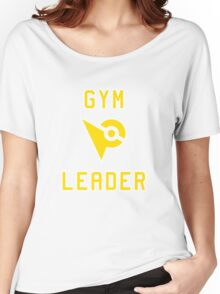 Pokemon Go Gym Leader - Yellow Instinct Women's Relaxed Fit T-Shirt