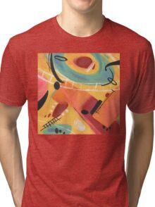 Tangerine Tri-blend T-Shirt