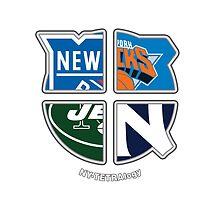 New York Pro Sports TETRAlogy! Yankees, Jets, Knicks and Rangers by Sochi