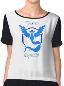 Pokemon Go - Team Mystic Chiffon Top