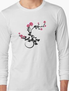 Beautiful Vector Floral Design Long Sleeve T-Shirt