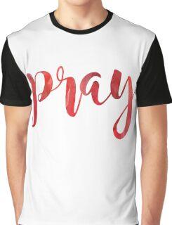 Pray Graphic T-Shirt