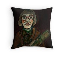 MY LOG SAW SOMETHING THAT NIGHT - from 'The Peaks' range Throw Pillow
