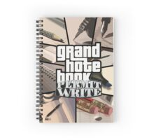 Grand Note Book: Permit to Write Spiral Notebook