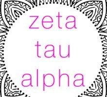 zeta tau alpha! Sticker