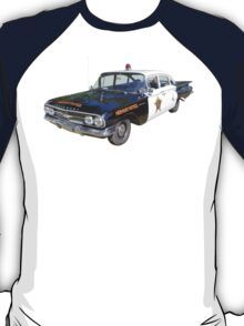 1960 Chevrolet Biscayne Police Car T-Shirt