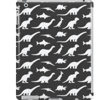Dinosaurs silhouettes iPad Case/Skin