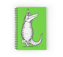 Yogi Crocodile Tree pose Spiral Notebook