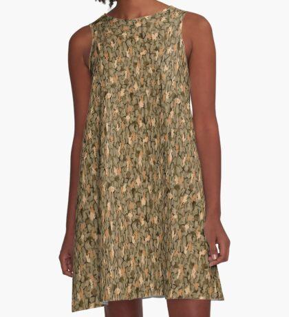 The Wild Bark A-Line Dress