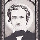 Edgar Allan Poe by Esther Green