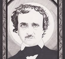 Edgar Allan Poe by Esther Green
