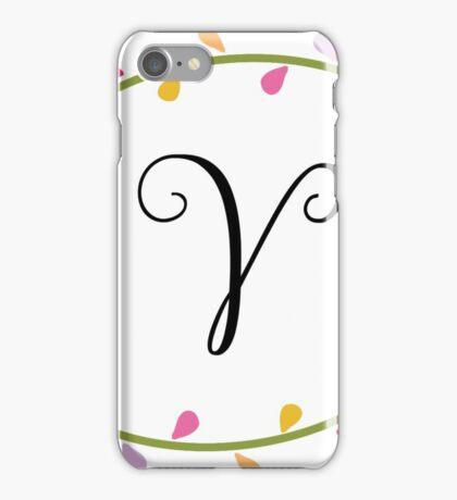 Beautiful Intials ~ V iPhone Case/Skin